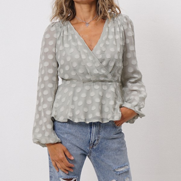 traced blouse