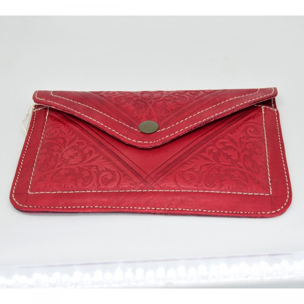crafted leather wallet