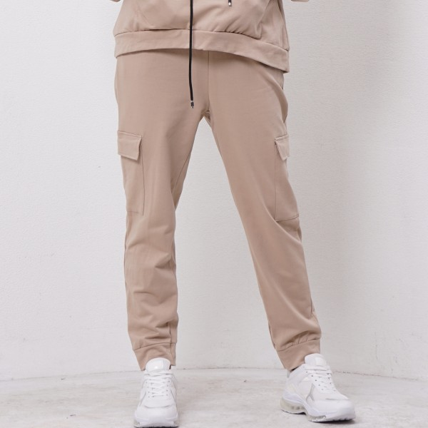 plush pants with side pockets