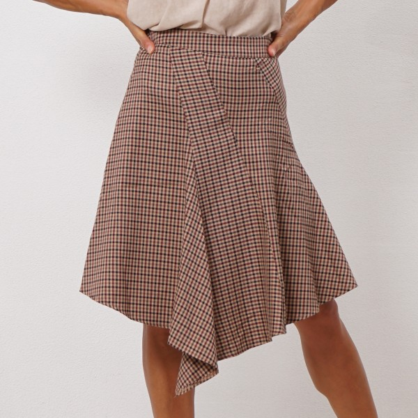 skirt with godets