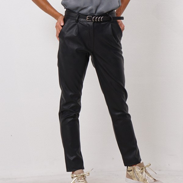 ecopele pants with belt
