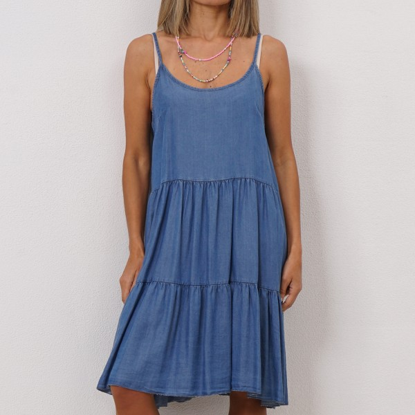 dress in tencel